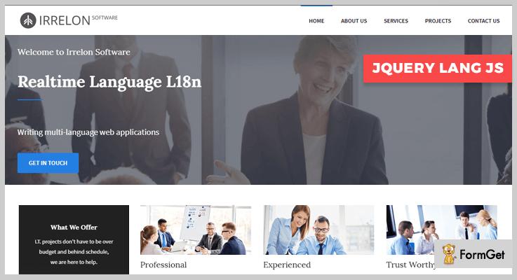 jQuery Lang JS jQuery Language Translator Plugin