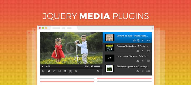 jQuery Media Plugins