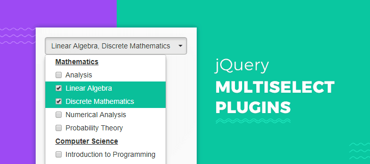 jQuery Multiselect Plugins