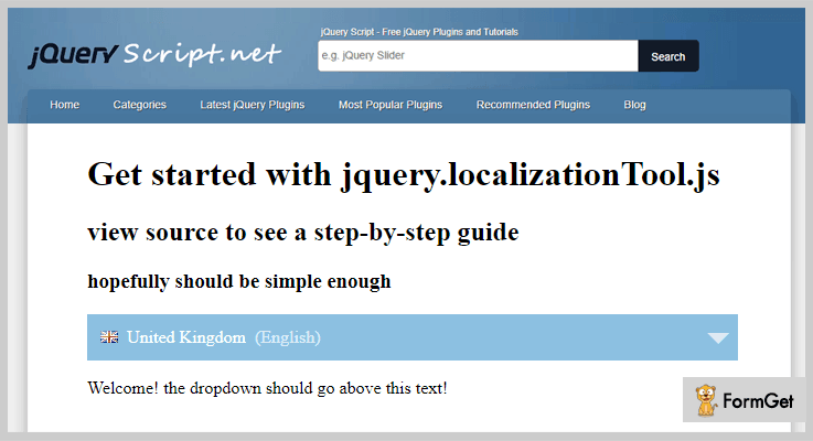 jQuery Plugin To Translate Web page