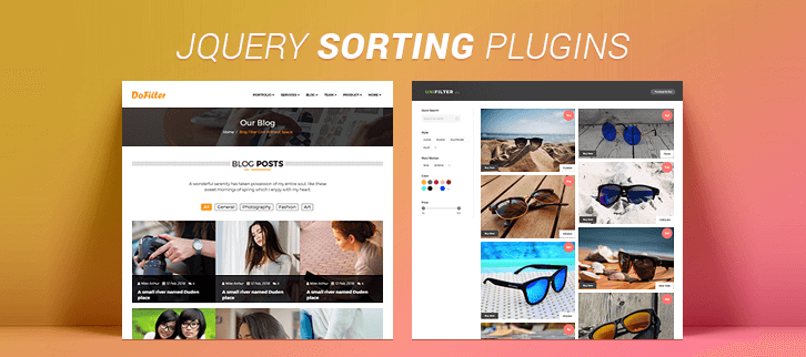jQuery Sorting Plugins