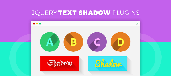 jQuery Text Shadow Plugins