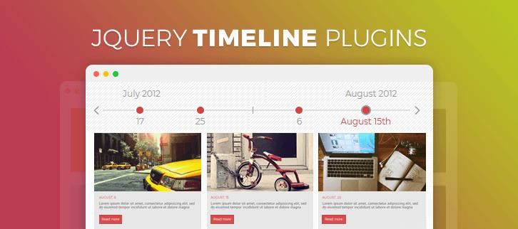 jQuery Timeline Plugins
