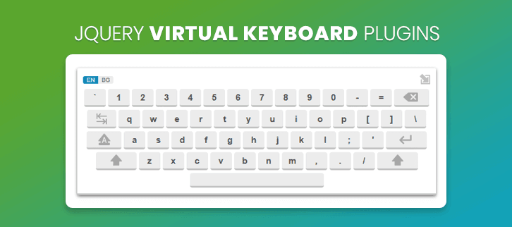 jQuery Virtual Keyboard Plugins