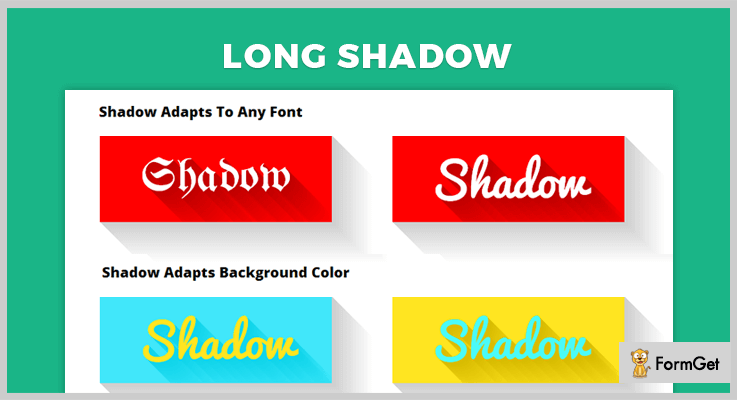 Long Shadow jQuery Text Shadow Plugin