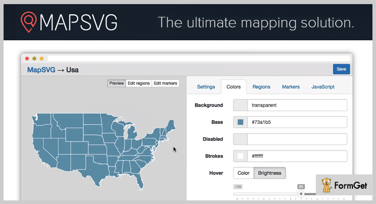 MapSVG jQuery jQuery Image Map Plugins