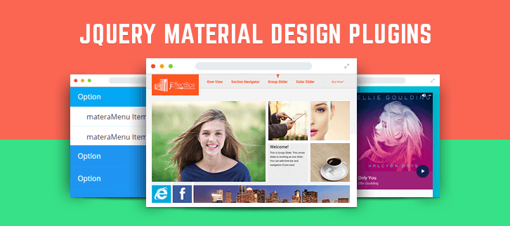 Material Design jQuery Plugins