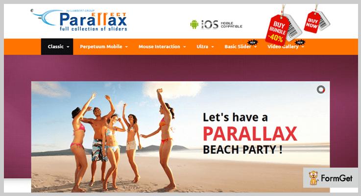 Parallax Slider jQuery Parallax Plugin