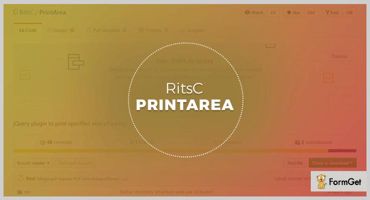 printArea jQuery Print Page Plugin