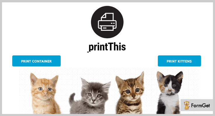 printThis jQuery Print Page Plugin