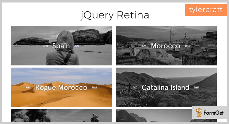 Retina Plugin Retina Display jQuery Plugin