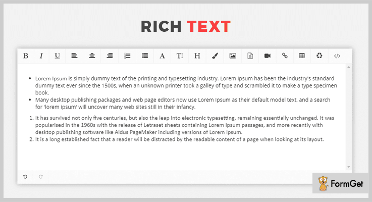 Rich Text jQuery Wysiwyg Plugin