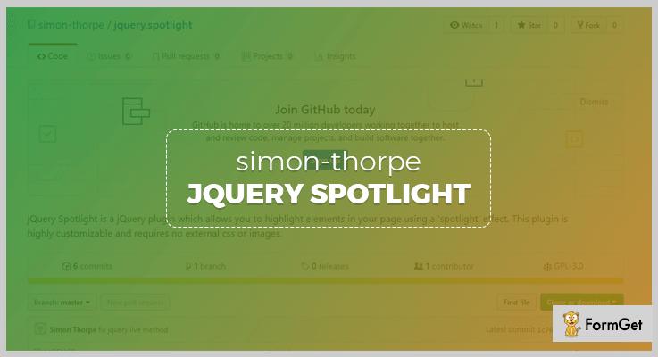 Simon's jQuery.spotlightjQuery Plugin
