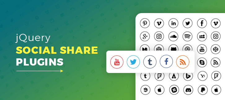 jQuery Social Share Plugins