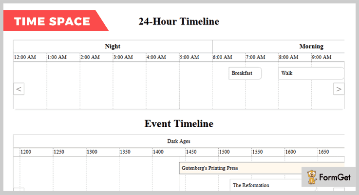 jQuery Timespace jQuery Timetable Plugin
