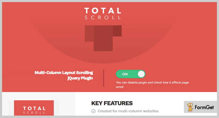 TotalScroll jQuery Layout Plugins