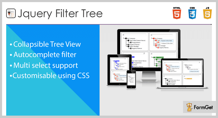 Tree Filter jQuery Multiselect Plugin