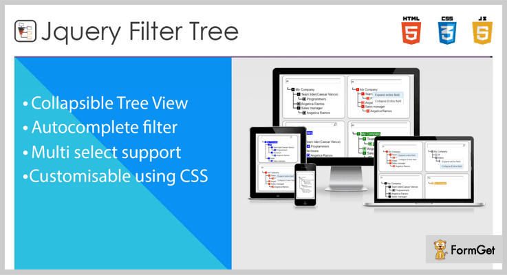 Tree Filter jQuery Tree View Plugin