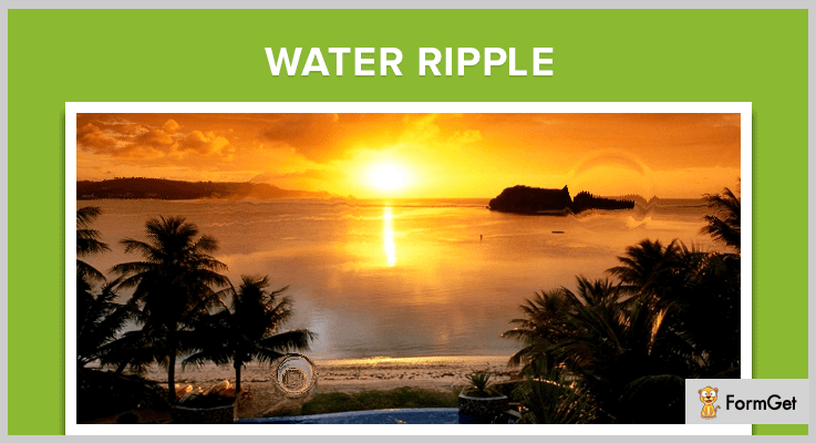 Water-ripple jQuery Ripple Effect Plugins