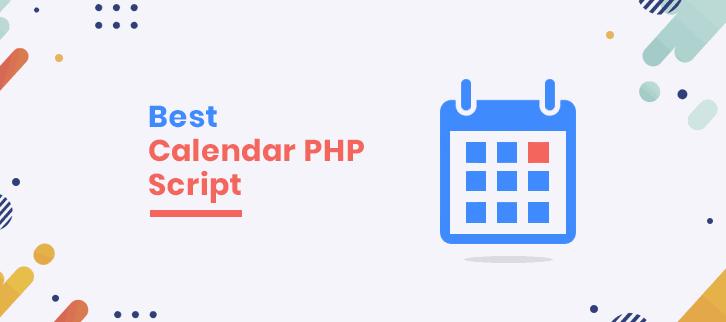 best caledar php script