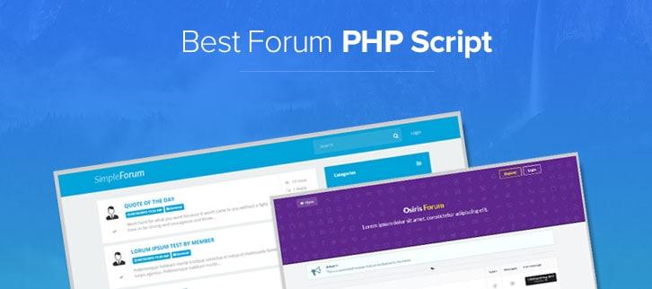 Best Forum PHP Script