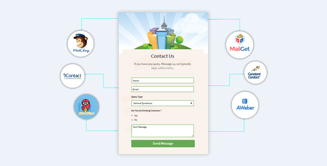Connect Forms With Email Marketing Application