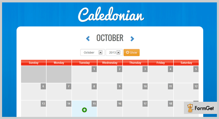 Caledonian Scheduling PHP Script
