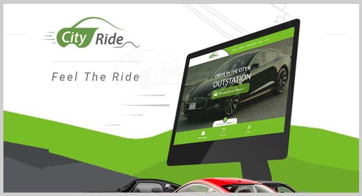 City Ride Car Rental PHP Script