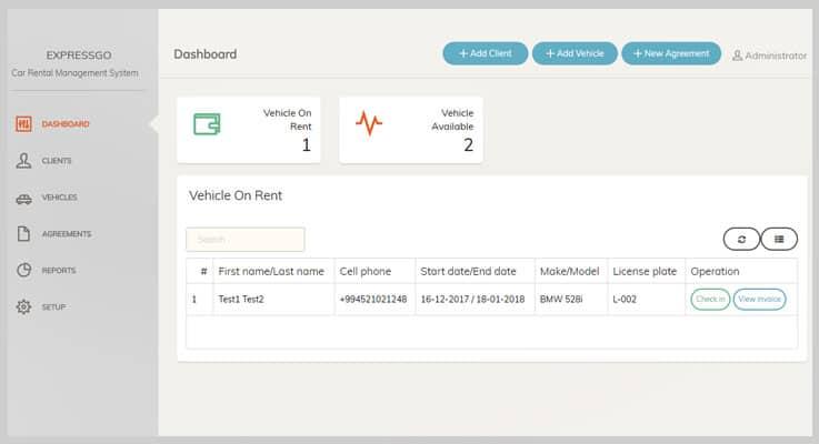 ExpressGo Car Rental PHP Script