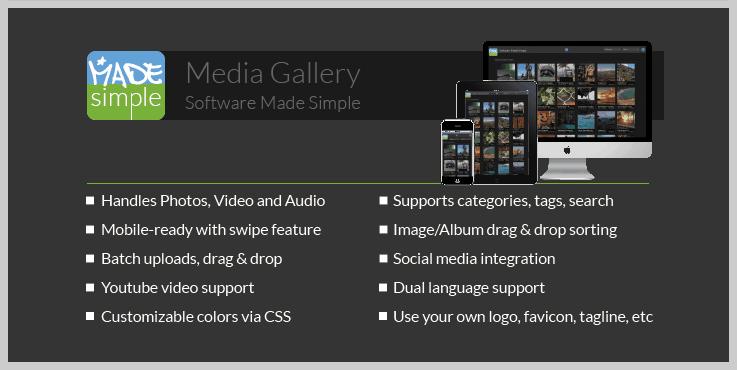 MadeSimple - Best Gallery PHP Script
