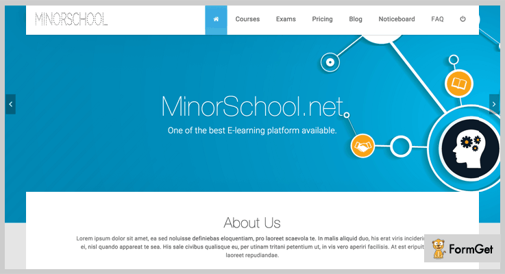Minor School Learning Management System PHP Script