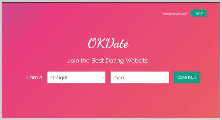 OkDate Dating PHP Script
