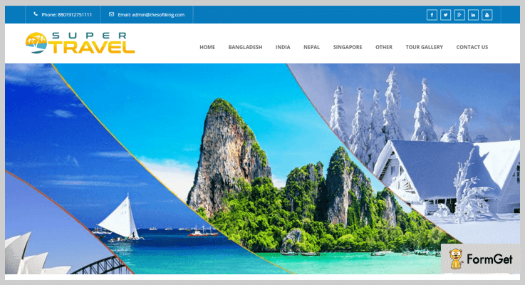 Travo Travel Agency PHP Script