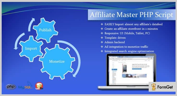 Affiliate Master Affiliate PHP Script