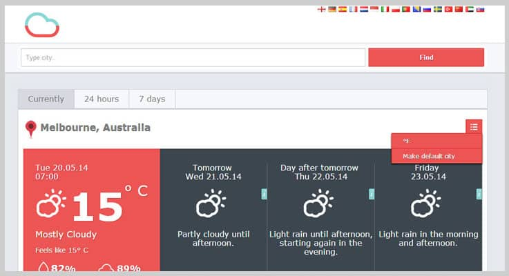 All Weather PHP Script