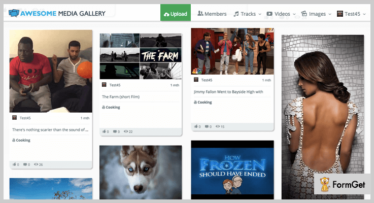 Awesome Video Gallery PHP Script