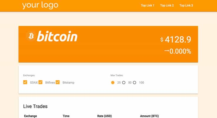 Bitcoin Live Trading Bitcoin PHP Script