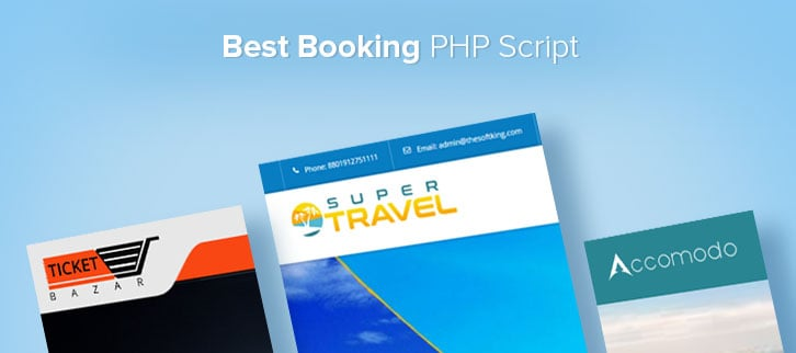 Booking PHP Script