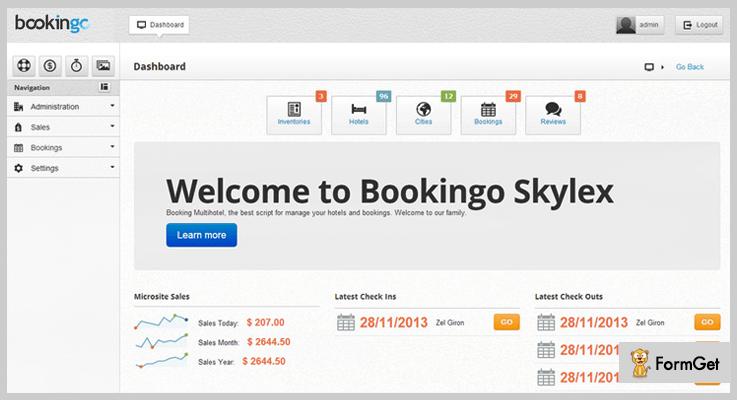 Bookingo Travel Agency PHP Script