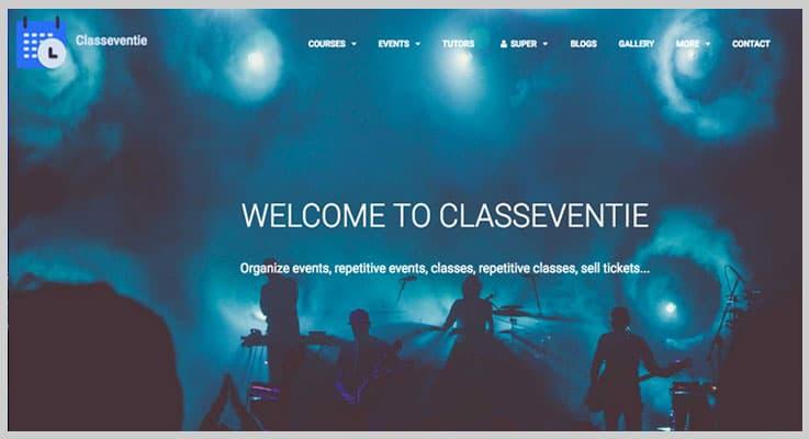 Classeventie V2 Event PHP Script