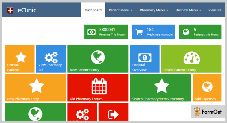 Clinic Pharmacy Management System Script In PHP