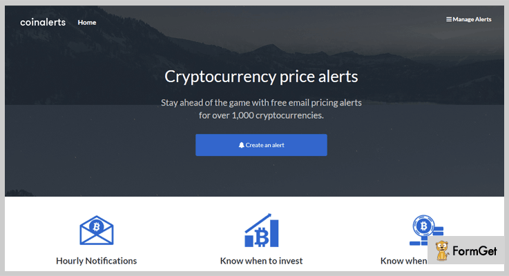 CoinAlerts Cryptocurrency PHP Script