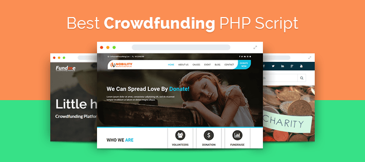 Crowdfunding PHP Script