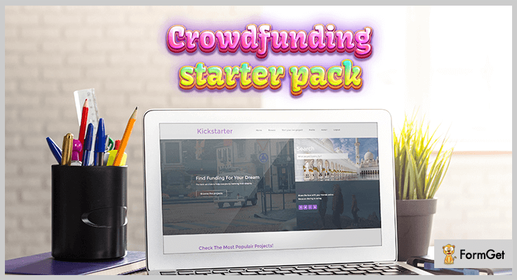 Crowdfunding Starter Crowdfunding PHP Script