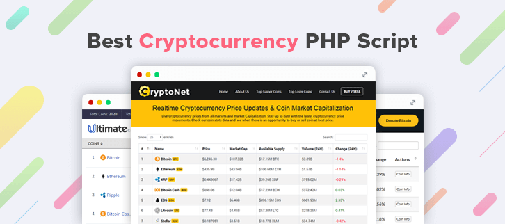 5+ Best Cryptocurrency PHP Script 2018
