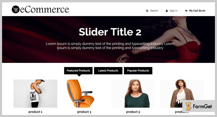 eCommerce Business Management E-commerce PHP Script