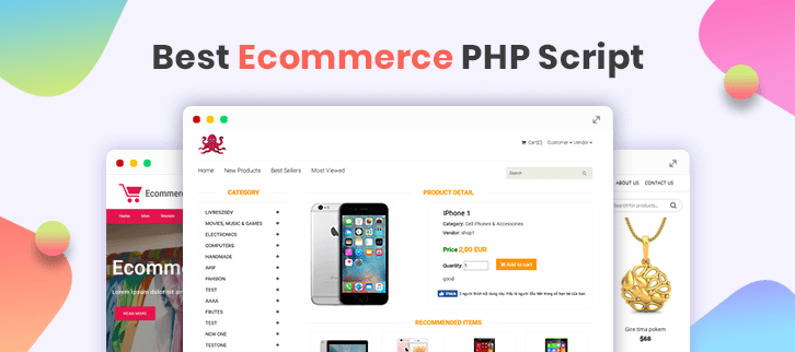 5+ Best E-commerce PHP Script 2018