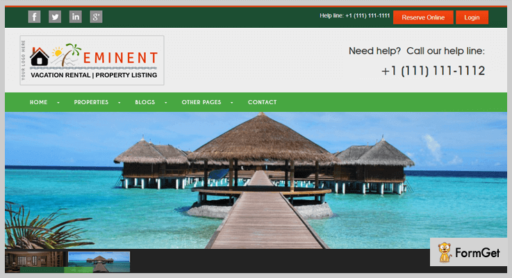 Eminent PHP Vacation Rental Script