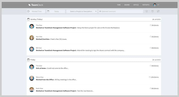 Freelance Project Management PHP Script