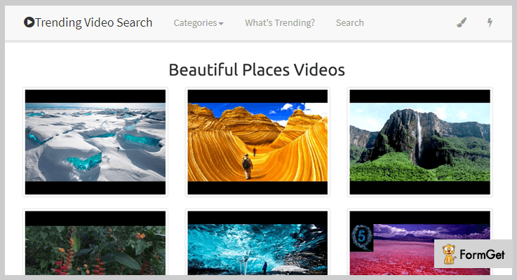 Instant Video Gallery PHP Script